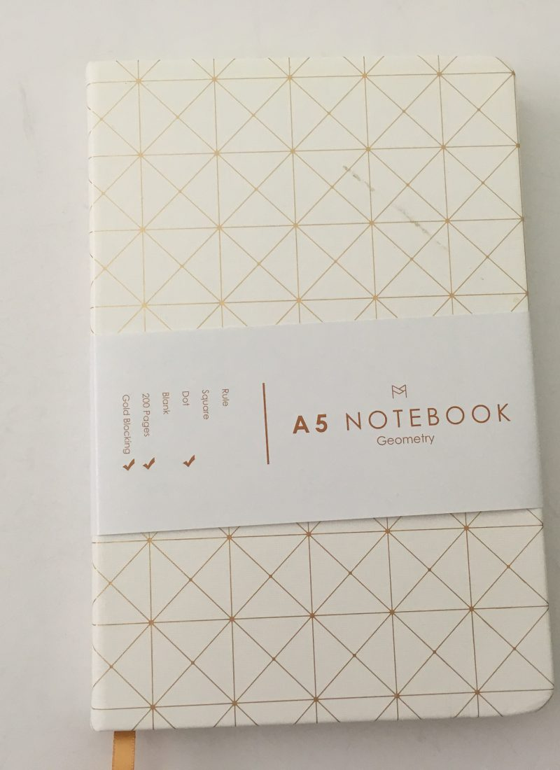 Miliko dot grid notebook review pros and cons pen testing pretty sewn bound bujo classy white cover 5mm dot grid white amazon pen testing paper quality_01