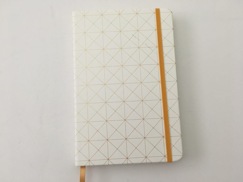 Miliko dot grid notebook review pros and cons pen testing pretty sewn bound bujo classy white cover 5mm dot grid white amazon pen testing paper quality_02