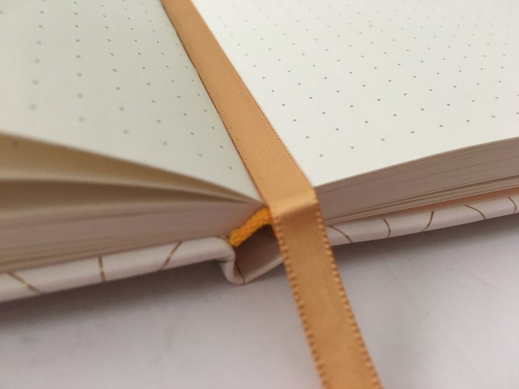 Miliko dot grid notebook review pros and cons pen testing pretty sewn bound bujo classy white cover 5mm dot grid white amazon pen testing paper quality_09