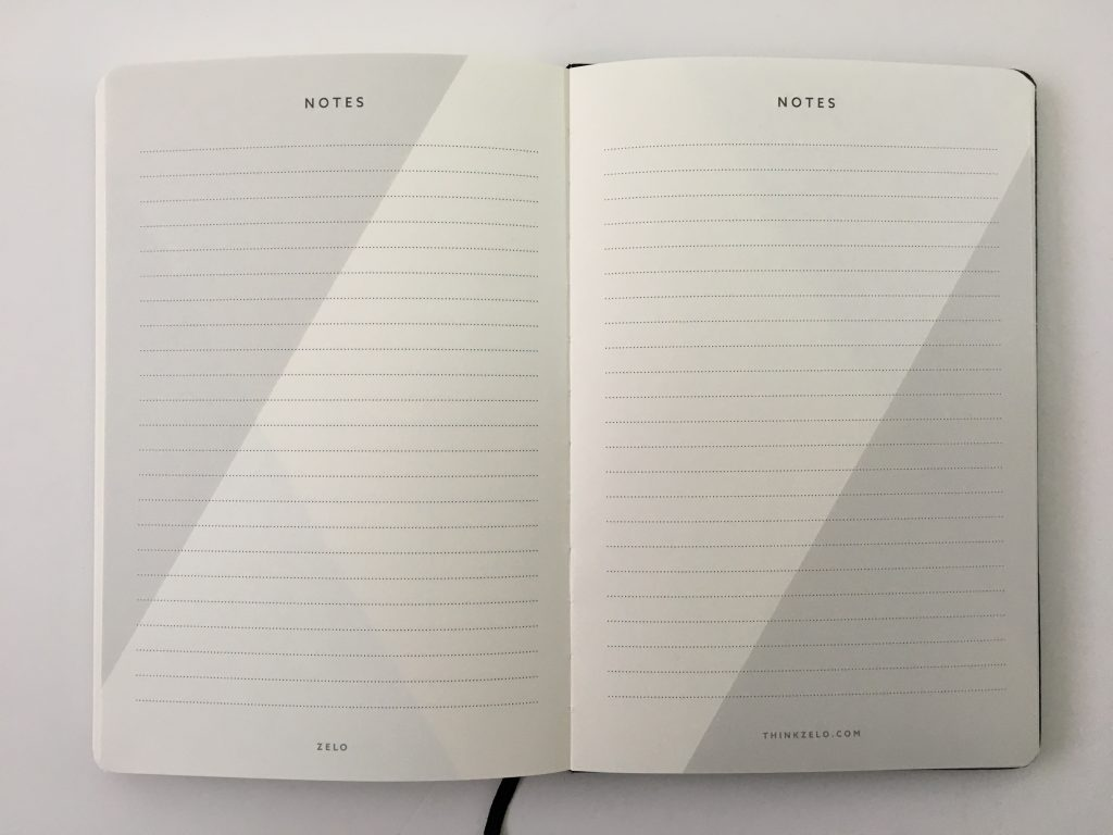 Zelo Journal daily planner review pros and cons sewn bound tips instructions no dated schedule task based minimalist gender neutral weekly overview review_24