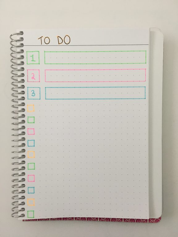 agendio bullet journal custom 0.25' dot grid large half use letter page size coil bound bright white personalised simple quick easy_02