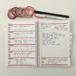 Trying out my custom Agendio Planner (Would I Change Anything?)