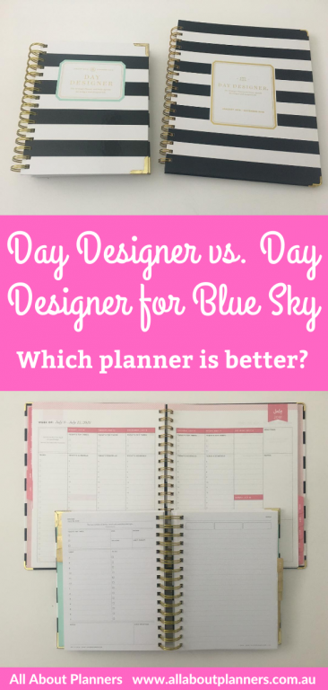 day designer for blue sky which planner is better original versus cheaper alternative worth the cost