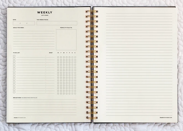 frank stationery project planner