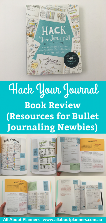 hack your journal book review pros and cons tips instructions bullet journaling newbie guide is it worth the money daily weekly monthly spreads ideas layouts simple