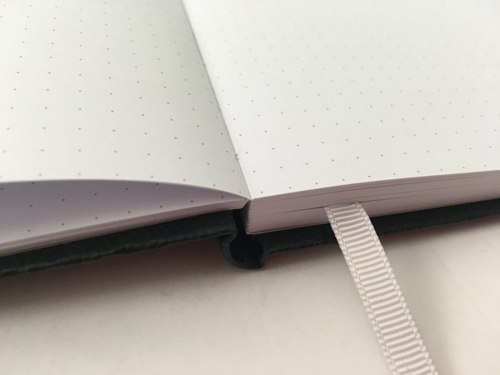 kmart dot journal notebook review ghosting pen test bleed through cheap less than 5 dollars australia affordable white paper_05