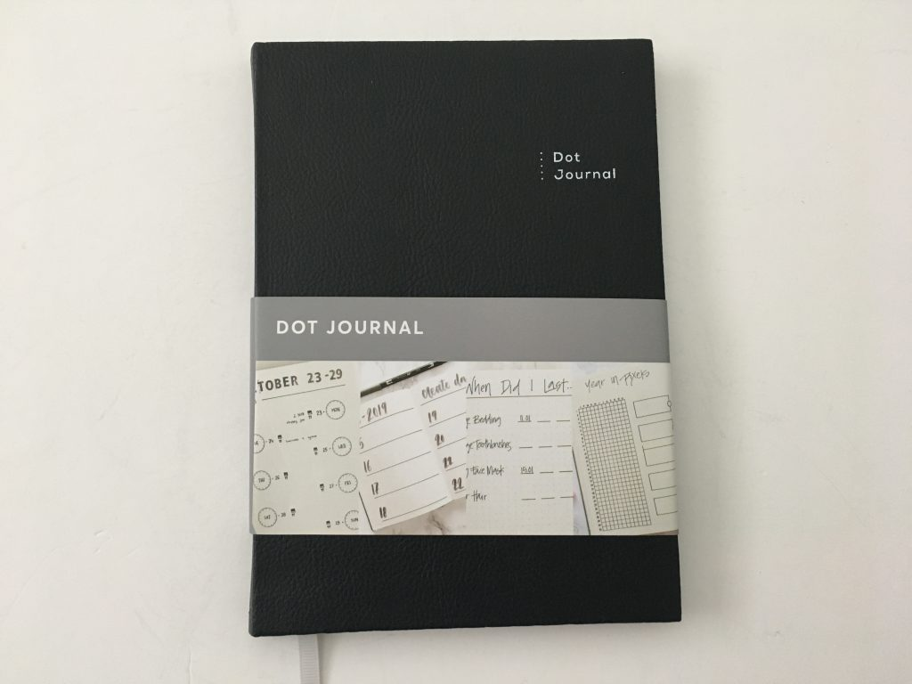 kmart dot journal notebook review ghosting pen test bleed through cheap less than 5 dollars australia affordable white paper_10