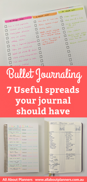 useful spreads your bullet journal should have tips inspiration ideas to do list functional last time i did quick simple easy bujo newbie all about planners