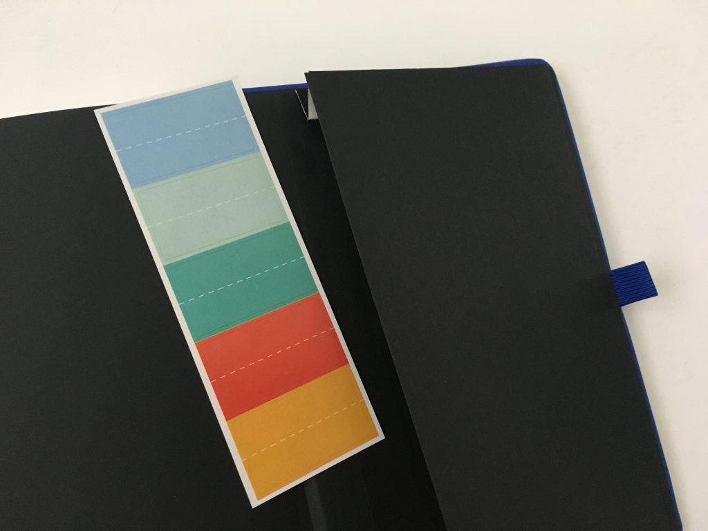 Bullet keeper dot grid notebook review pros and cons white paper pen testing ghosting bleed through a5 page size blue cover cheap_11