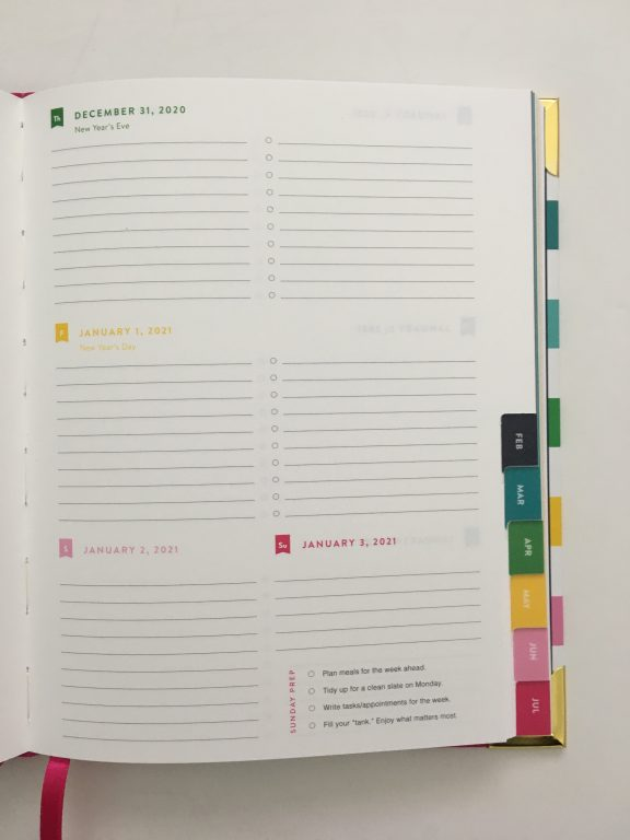 Emily ley weekly planner review pros and cons video rainbow horizontal monday start hardbound is it worth the cost video flipthrough all about planners_32