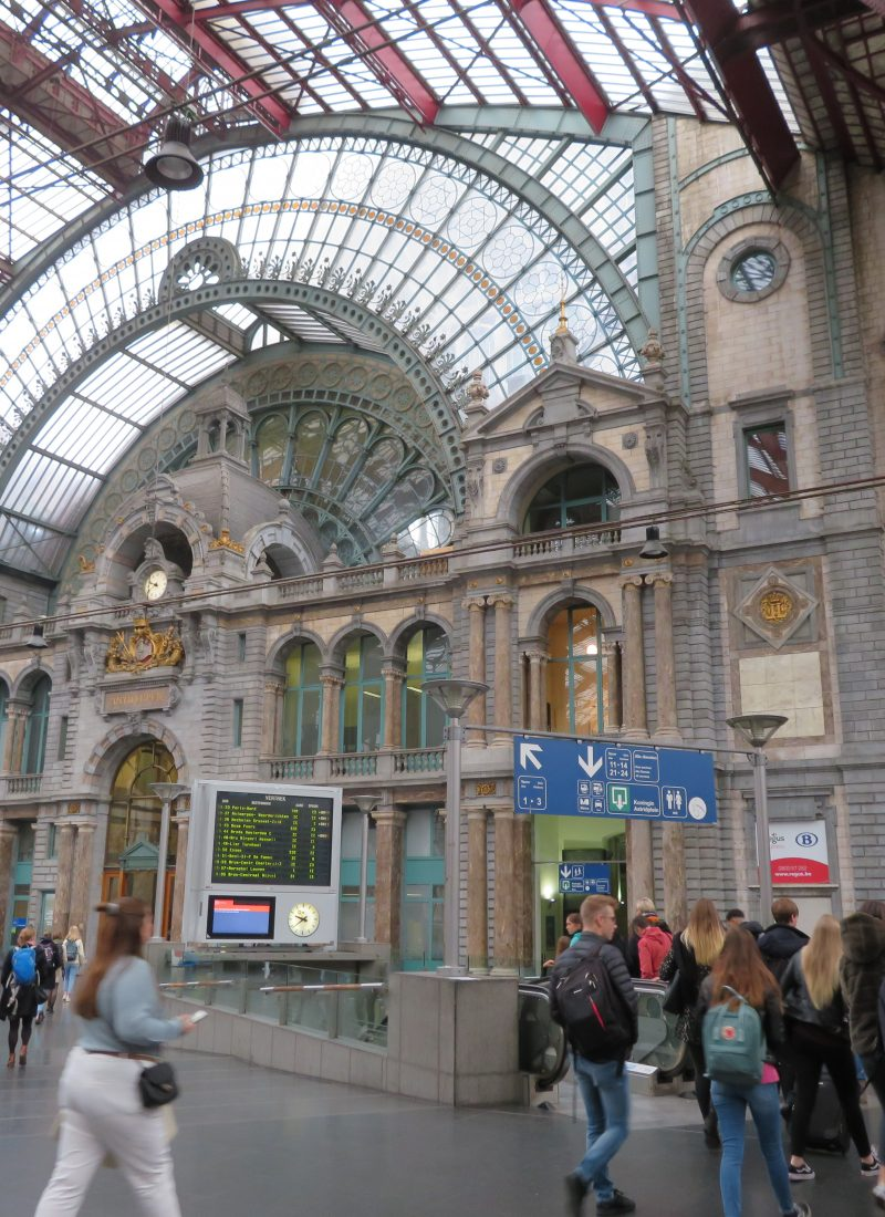 Antwerpen-Centraal train station europes prettiest train station buildings half day trip from brussels things to see and do in antwerp