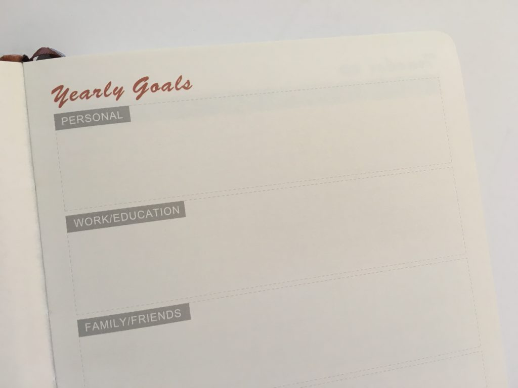 Lemome weekly planner review pros and cons monday week start horizontal habit tracker sewn bound hardcover review video_05