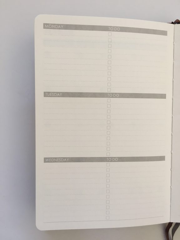 Lemome weekly planner review pros and cons monday week start horizontal habit tracker sewn bound hardcover review video_11