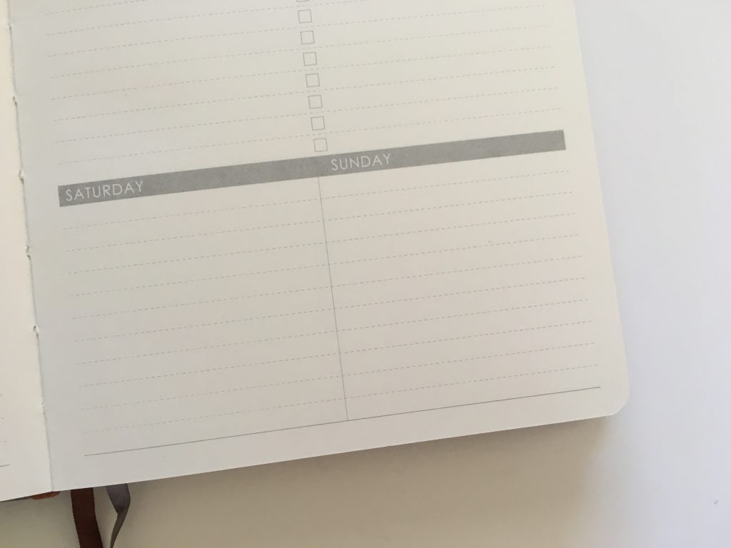 Lemome weekly planner review pros and cons monday week start horizontal habit tracker sewn bound hardcover review video_09
