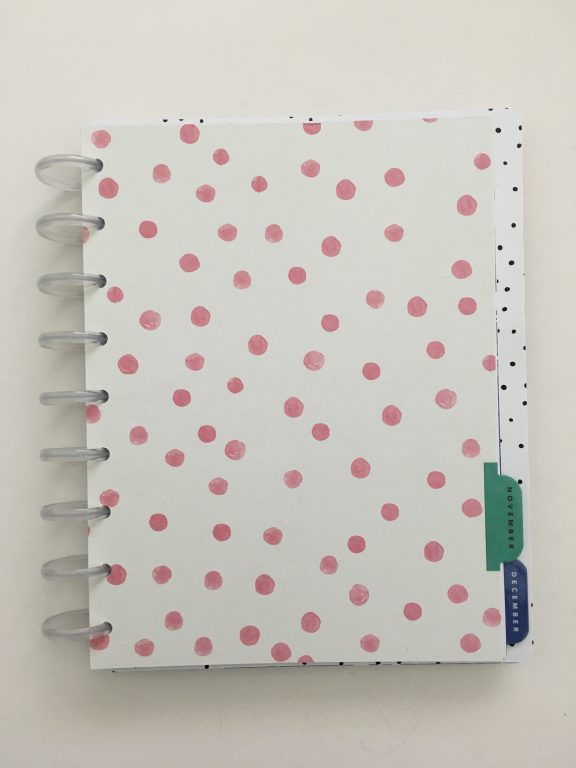 Maggie Holmes day to day planner discbound vertical weekly minimalist similar alternative to mambi happy planner floral_23