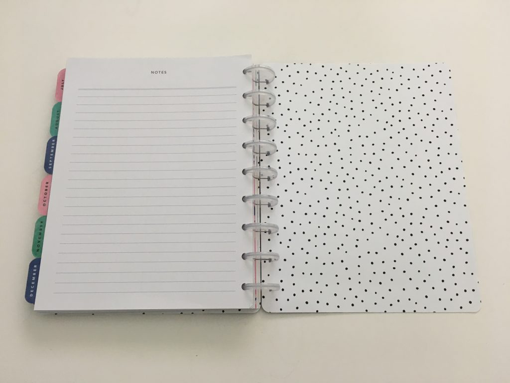Maggie Holmes day to day planner discbound vertical weekly minimalist similar alternative to mambi happy planner floral_25