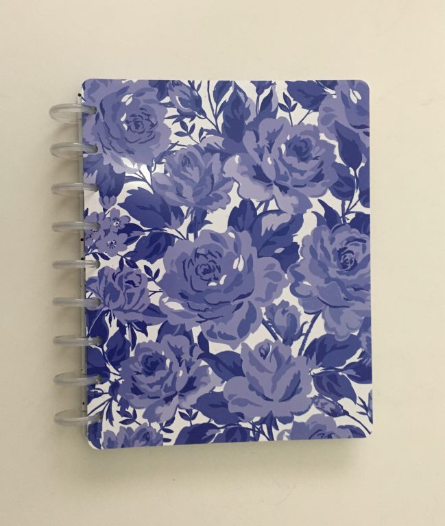 Maggie Holmes day to day planner discbound vertical weekly minimalist similar alternative to mambi happy planner floral_26