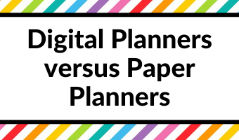 Digital Planner versus Paper Planner: Which is right for you? (Pros & Cons)