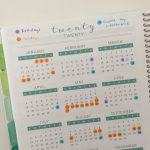 7 Ways to use dot markers in your planner or bullet journal