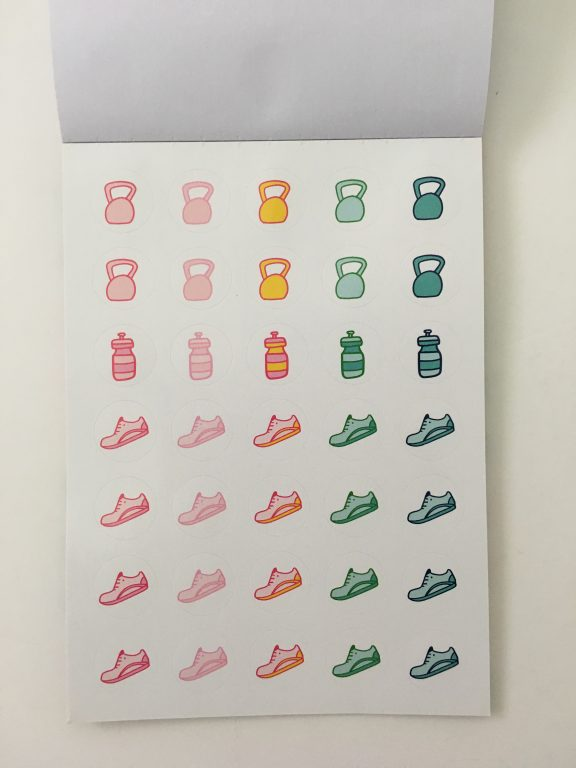 emily ley planner stickers review bright rainbow colors functional decorative fitness