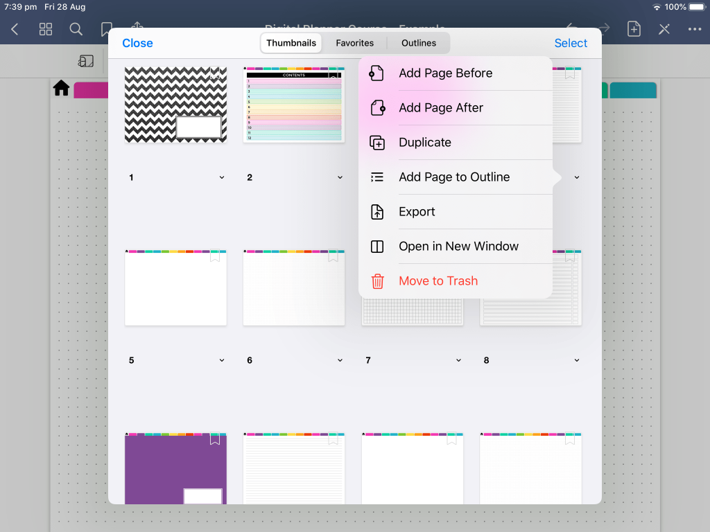 how to duplicate pages in goodnotes tips tutorial instructions-min