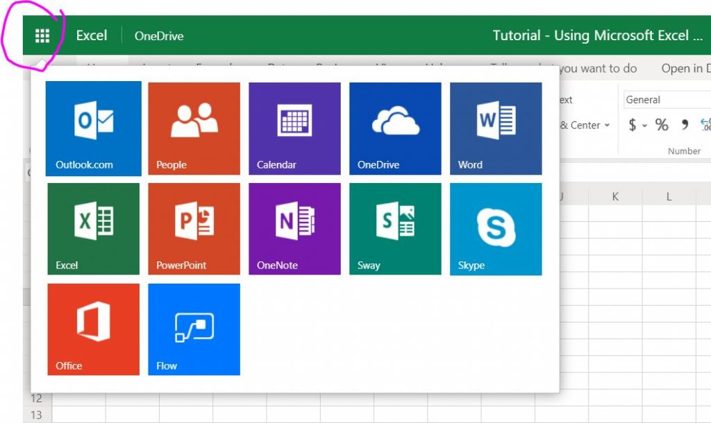 how to navigate microsoft free online tools