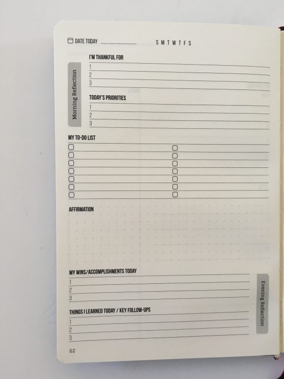 this is my era planner review weekly goals bookbound weekly review monthly review daily schedule undated_18