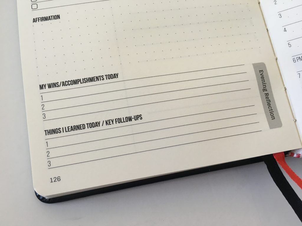 this is my era planner review weekly goals bookbound weekly review monthly review daily schedule undated_21