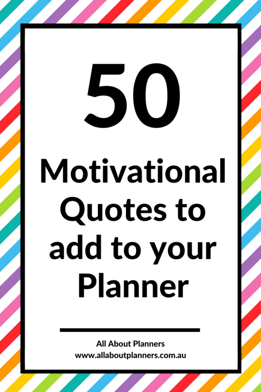 50 motivational quotes to add to your planner download inspiration persistence confidence planner decorating ideas best success printable resource tool newbie