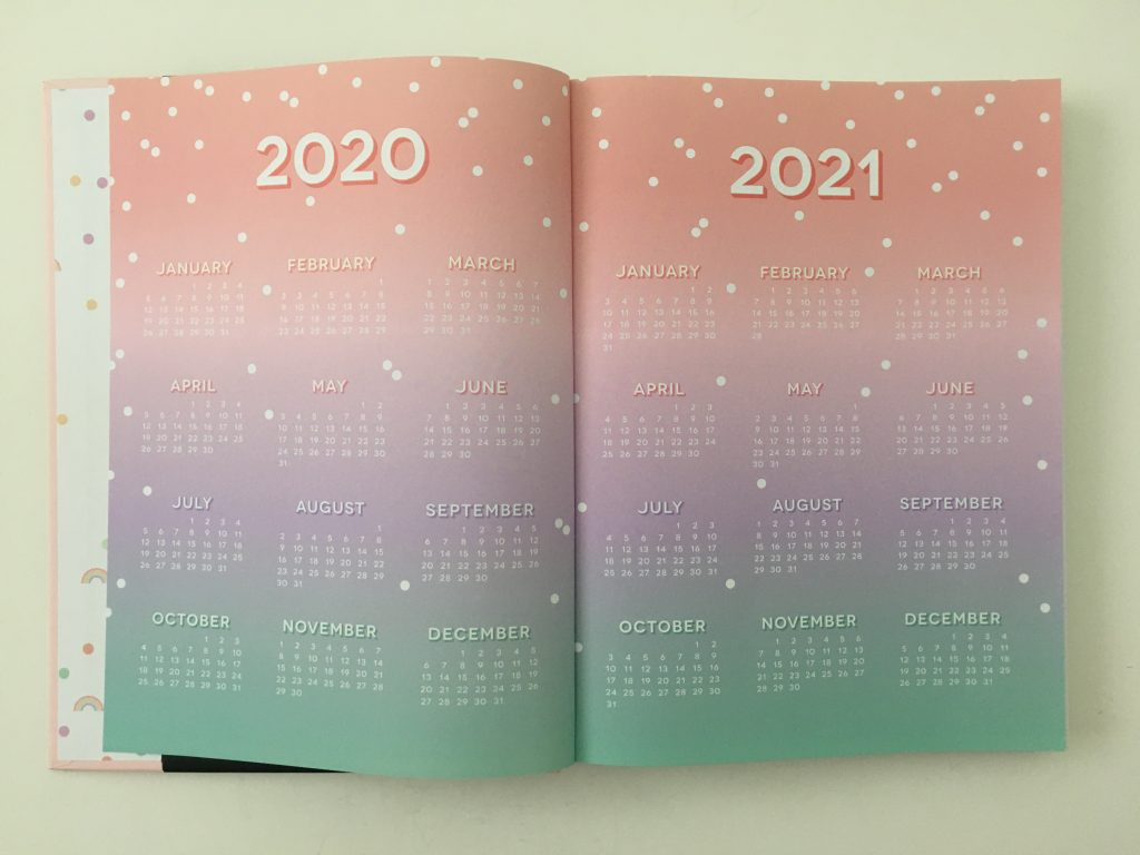 Happy Planner book bound weekly review horizontal pastel colorful lay flat classic size hardcover monday start video flipthrough_04