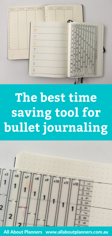 best time saving supplies bullet journaling ink by jeng row and stencil column template quick easy useful tools bujo newbie tutorial