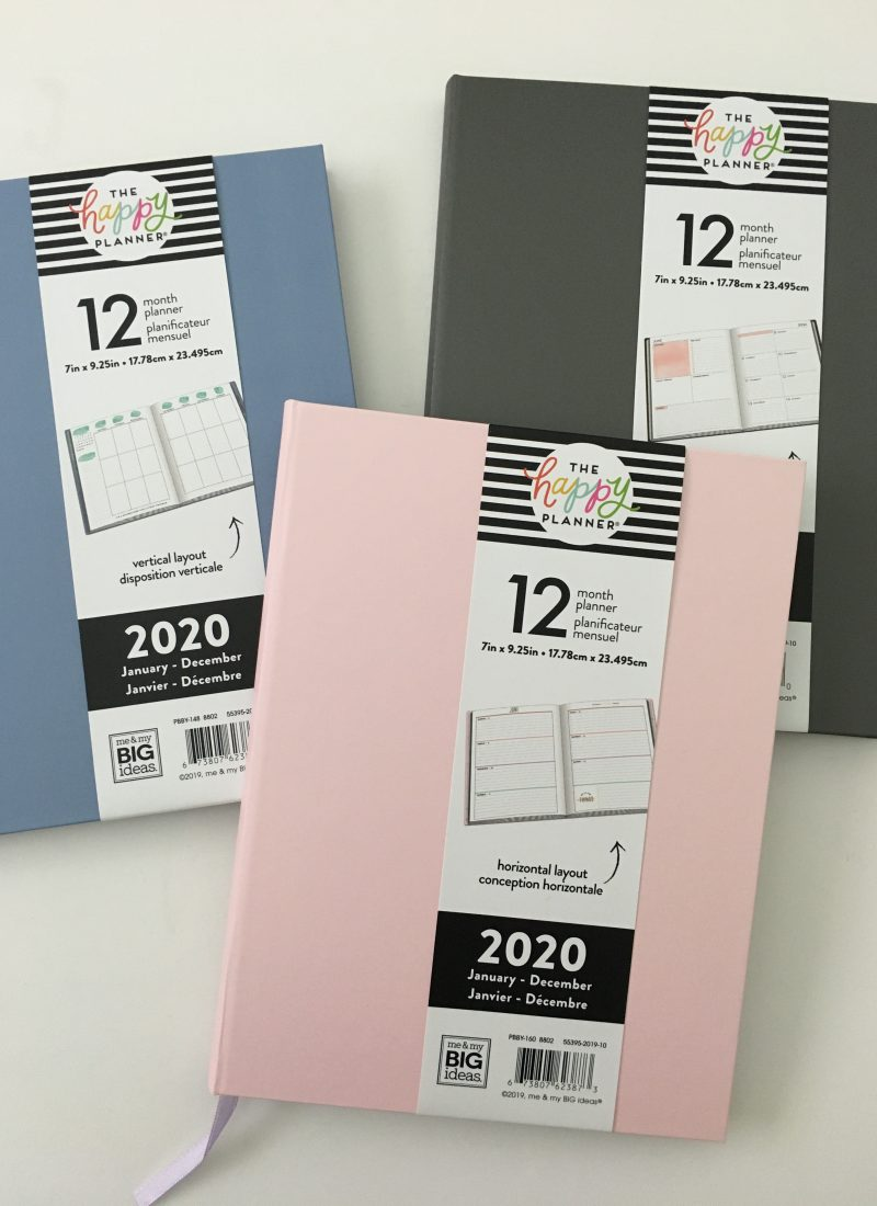 happy planner book bound review me and my big ideas vertical horizontal dashboard sewn binding lay flat colorful video flipthrough