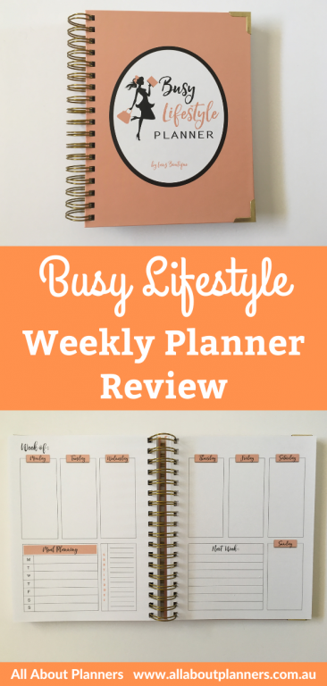Busy lifestyle planner review daily undated monthly monday week start monthly review undated amazon cheap