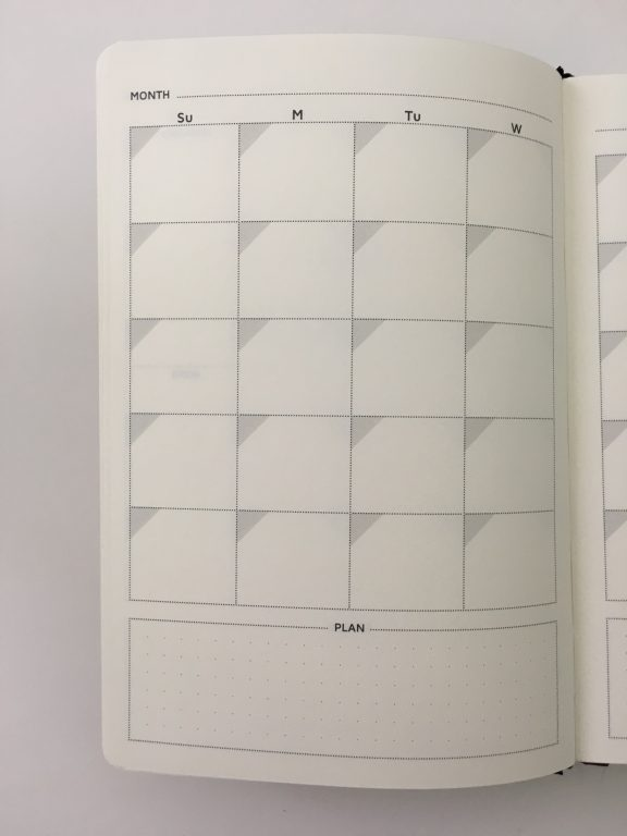 Cossac planner review weekly daily day to a page planner undated sunday week start goals minimalist review_09
