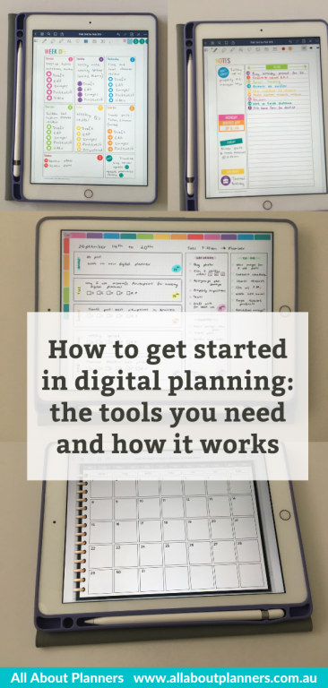 digital planning newbie goodnotes how to get started in digital planning the tools you need and how it works instructions template all about planners