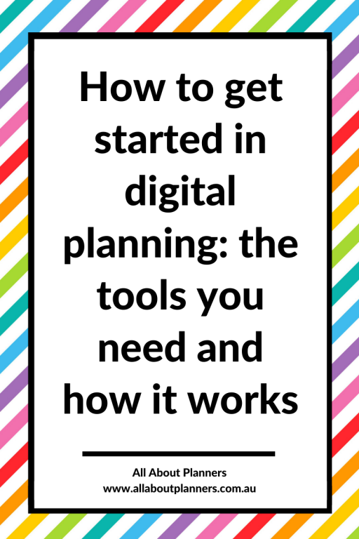 how to get started in digital planning the tools you need and how it works instructions template all about planners newbie to goodnotes