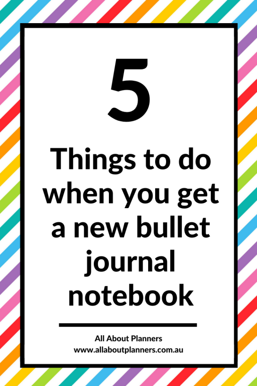 how to set up a new bullet journal notebook tips instructions things to do check bujo dot grid newbie ideas