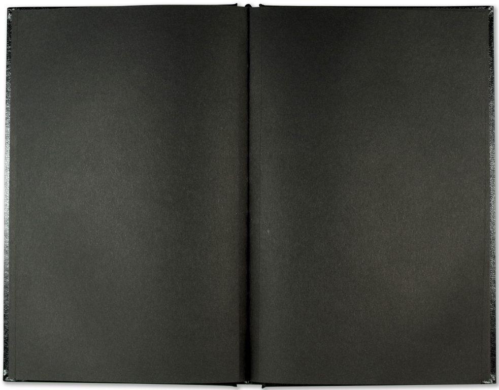 peter pauper press black paper notebook sketch plain notebooks for bullet journaling 2
