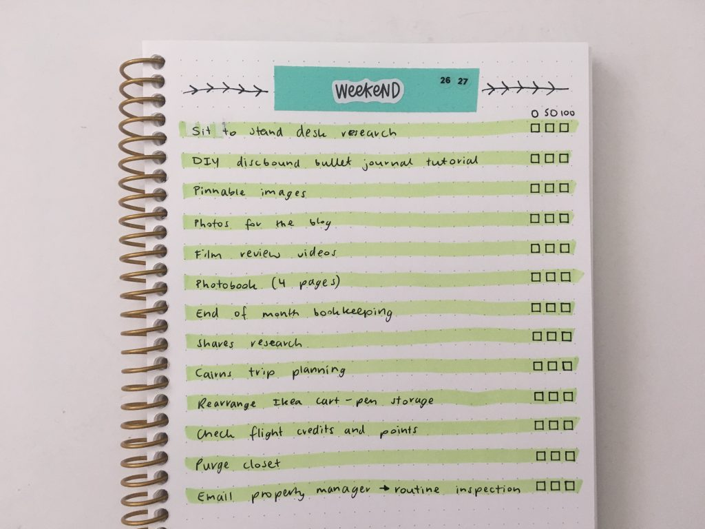 washi tape weekly spread highlighters checklist minimalist quick easy all about planners stencil checklist checkbox mambi text label stickers
