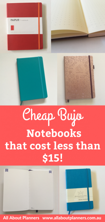 cheap bullet journal notebooks that are actually good pen testing paper quality cover colors pros and cons all about planners recommendation affordable bujo