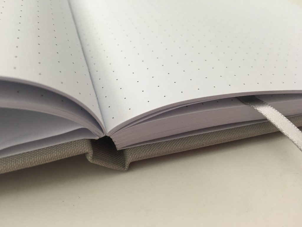 Francheville dot grid notebook review 5mm hardcover cheap australian bujo pen test video review all about planners_07