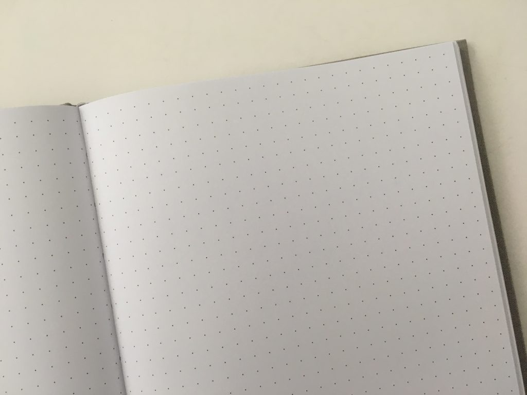 Francheville dot grid notebook review 5mm hardcover cheap australian bujo pen test video review all about planners_09
