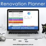 How I use Excel to Organize a Home Renovation (budget, spending, program, paint colors, contacts, quotes)