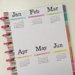 12 Bullet journal annual planning page layout ideas