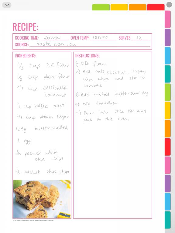 digital recipe organization using goodnotes digital planning how to use a digital notebook