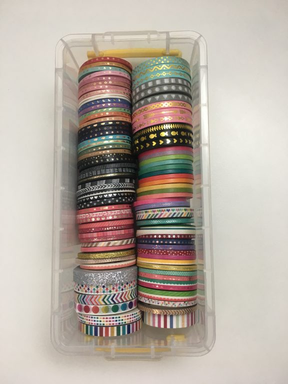 favorite skinny washi tape for planning happy planner carefully crafted rainbow illustrated faith park lane paperie all about planners