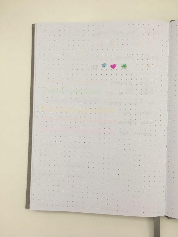francheville dot grid notebook spotlight australia pen test bullet journal notebook less than $10 pens highlighters
