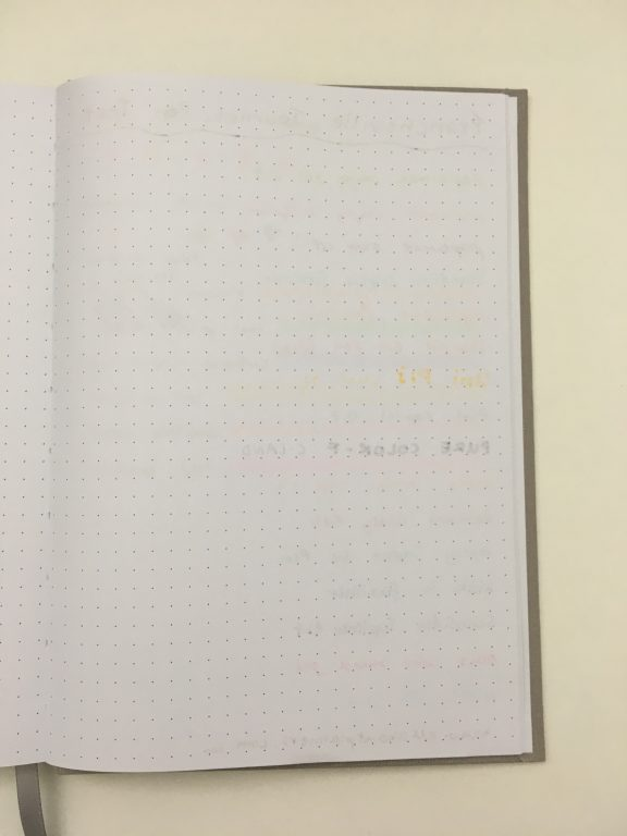 francheville dot grid notebook spotlight australia pen test bullet journal notebook less than $10 pens highlighters stamps