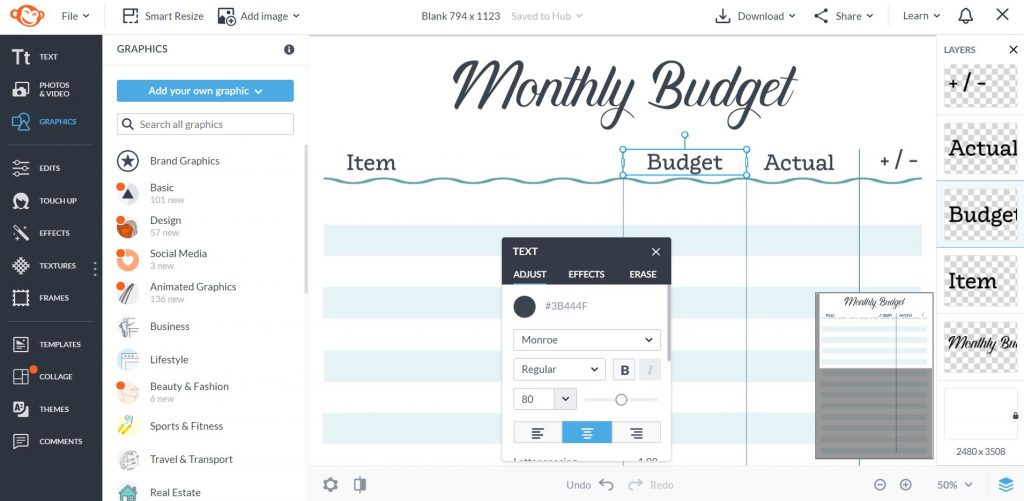 how to align text in picmonkey tutorial for making printables all about planners