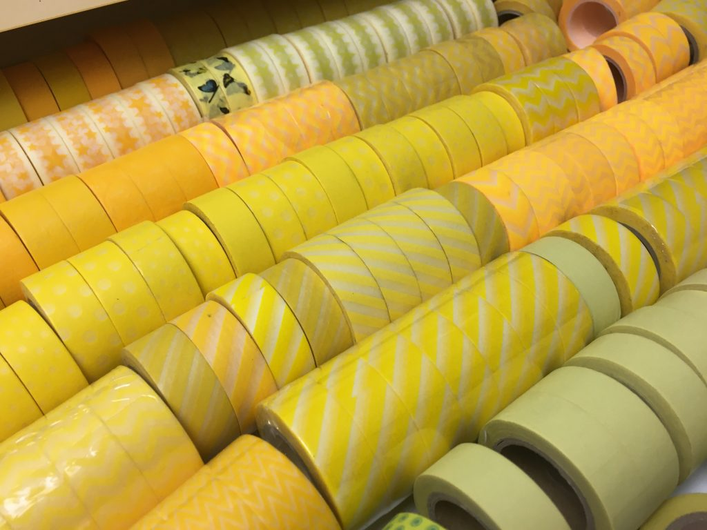 washi tape collection yellow color coded ikea alex drawers on casters buy washi tape australian supplier carefully crafted all about planners